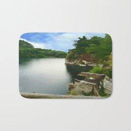 Majestic Mohonk Lake Bath Mat