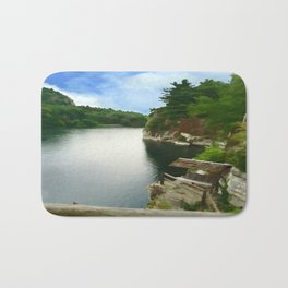 Majestic Mohonk Lake Bath Mat