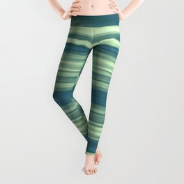 Abstraction Serenity in Afternoon at Sea Leggings
