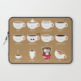Know Your Coffees Laptop Sleeve
