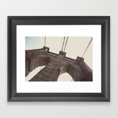 brooklyn bound:: nyc Framed Art Print