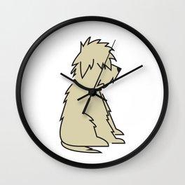Mop Dog Wall Clock