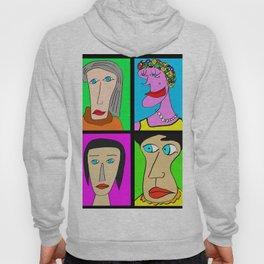 Portraits de femmes Hoody