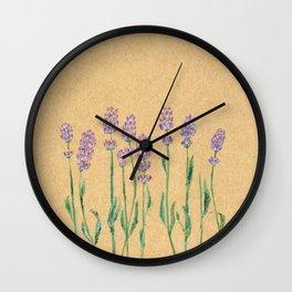 lavender Wall Clock