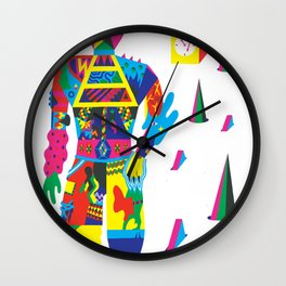 The Raver Wall Clock