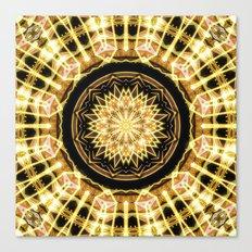 GlaMANDALA | Mandala Glamour Canvas Print