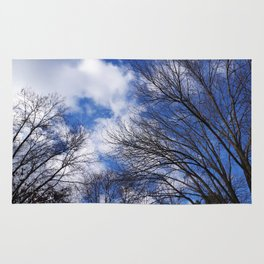 Reaching for the clouds Rug