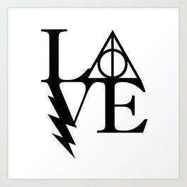 HP love Art Print