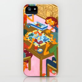Family Night iPhone Case