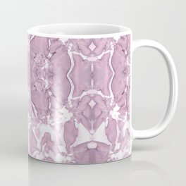 Shibori Rose Crepe De Chine Coffee Mug