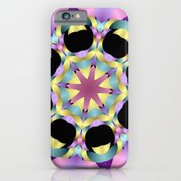 mandala-design -a- iPhone Case