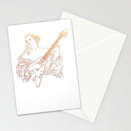 Flying V Renaissance Stationery Cards