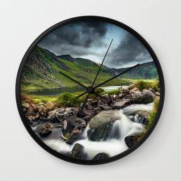 Tryfan and Ogwen Lake Wall Clock