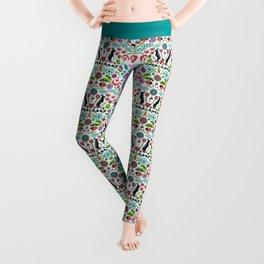 Scandinavian Inspiration (White) Leggings