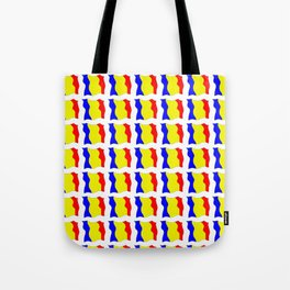 Flag of romania-romania,romanian,balkan,bucharest,danube,romani,romana,bucuresti Tote Bag