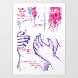 PERISH AND NOURISH - Equilibrium Art Print