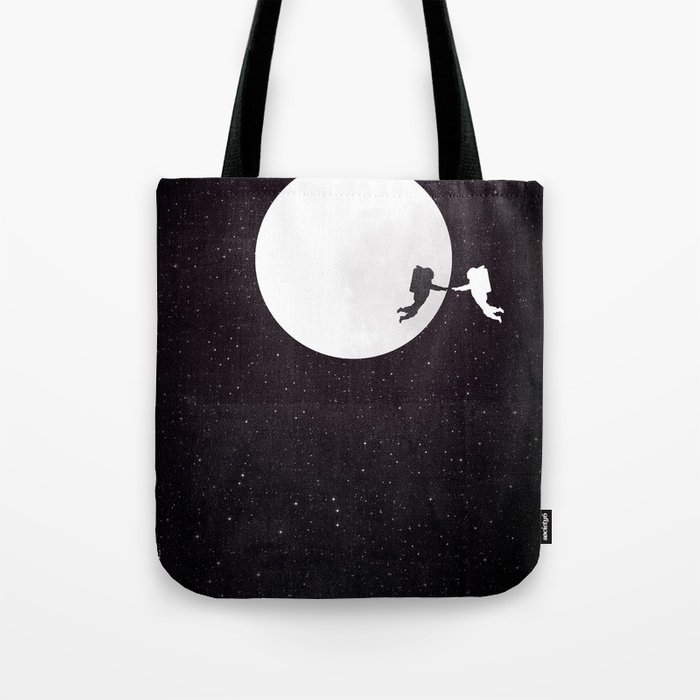 Moon alternative movie poster Tote Bag