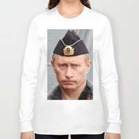 putin Long Sleeve T-shirts featuring Putin seaman. by Mikhail Zhirnov