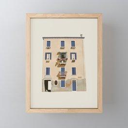 VENICE TOUR Framed Mini Art Print