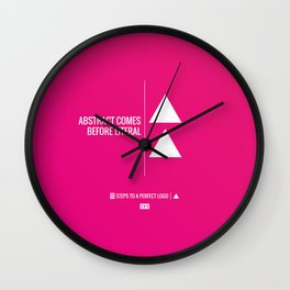 Perfect Logo Series (5 of 11) Wall Clock