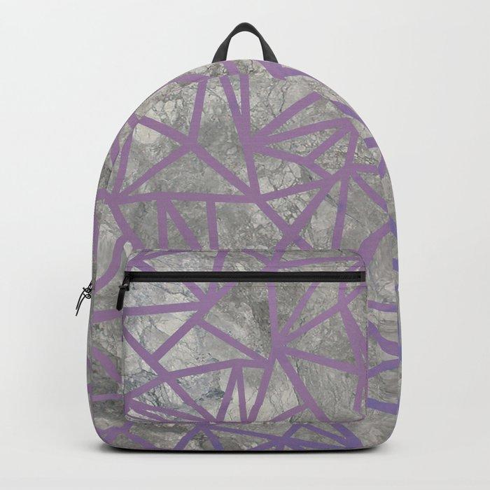 Ab Marb Magenta Backpack
