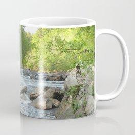 Watercolor Landscape, Eno River 06, North Carolina Coffee Mug