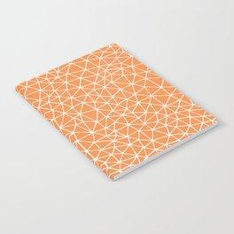 Connectivity - White on Orange Notebook