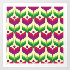 Tulip Garden Art Print