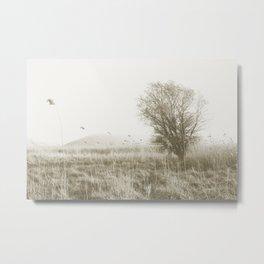Windy Field Metal Print