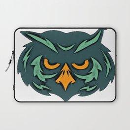 Owl unequaled observer captivating heartthrob government employee rotund Laptop Sleeve