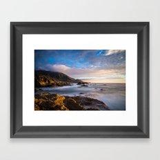 California Coast 4 Framed Art Print