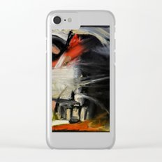 Night Window Clear iPhone Case