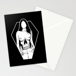 Pretty Girls Make Graves Stationery Cards
