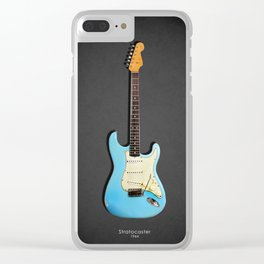 The 64 Stratocaster Clear iPhone Case