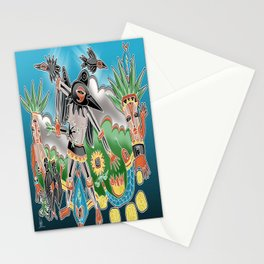 snake shaman Stationery Cards