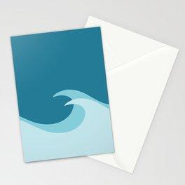 Waves - Digtial Art  Stationery Cards