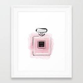 Pink perfume #3 Framed Art Print