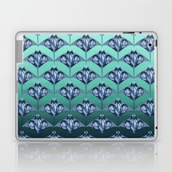 Manta ray - Sapphire Laptop & iPad Skin