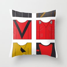 Michael's famous jackets Throw Pillow