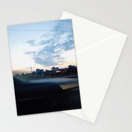berlin is passing by Stationery Cards