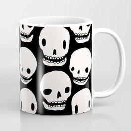 Skull Print Coffee Mug