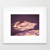 alien Framed Art Prints featuring Alien by Timothy J. Reynolds