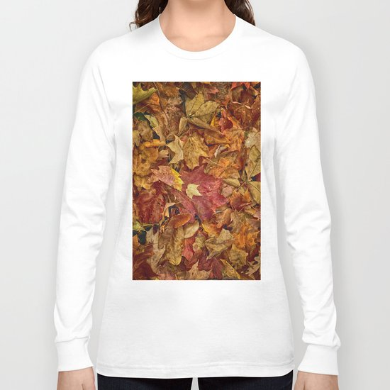 Falls textures Long Sleeve T-shirt