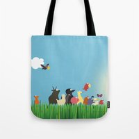 What's going on the farm? Kids collection Tote Bag