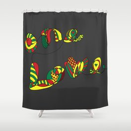 One Love Shower Curtain