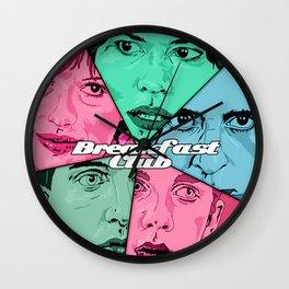 Breakfast Club Colors Wall Clock