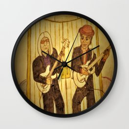 Tribute to Prince and Tom Petty Wall Clock