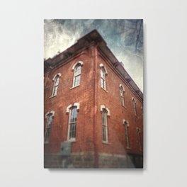 Schoolhouse Metal Print