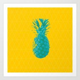 Prisma piña Art Print