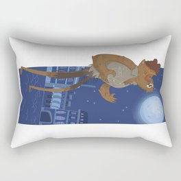 Classic Monsters Werewolf Rectangular Pillow
